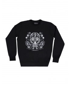 Sweatshirt Black Skull