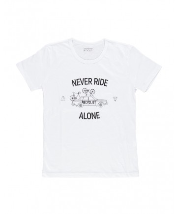 T-Shirt Never Ride Bianca